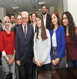 German Federal President Visit to Graduate School of Business Administration