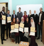 Graduation of Visual Rehabilitation Diploma Students