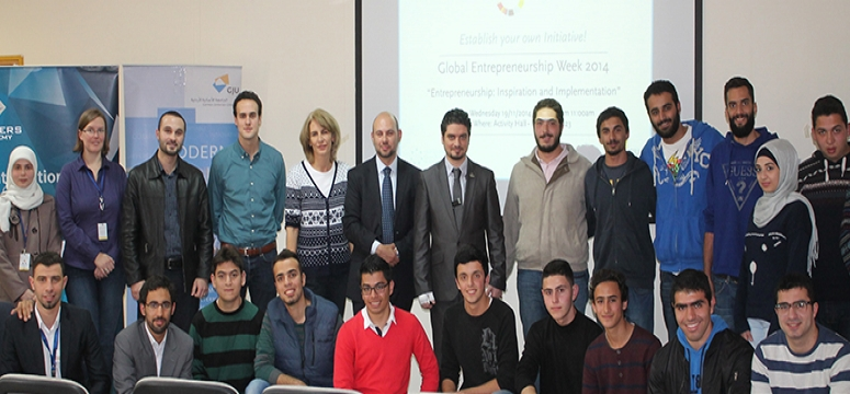 Global Entrepreneurship Week at GJU
