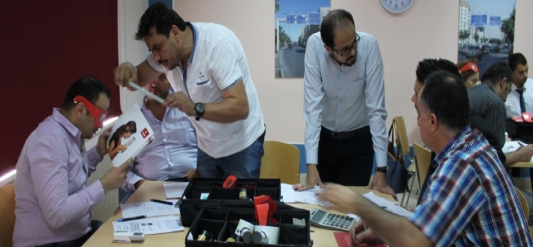 Introduction to low vision for optometrists in the Jordanian Association