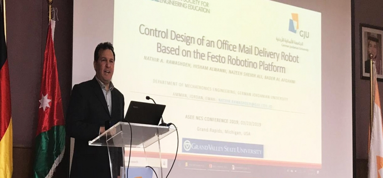 A Presentation for Conference Paper on Office Mail Robot based on Festo Robotino