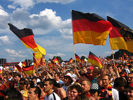 Germans celebrating 30th Anniversary of  Reunification